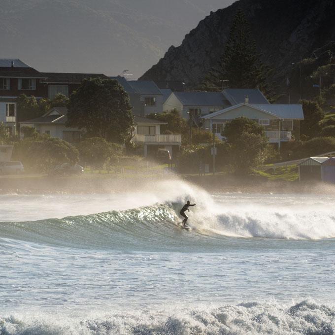 Wellington Photographer - Surf Photography Titahi Bay