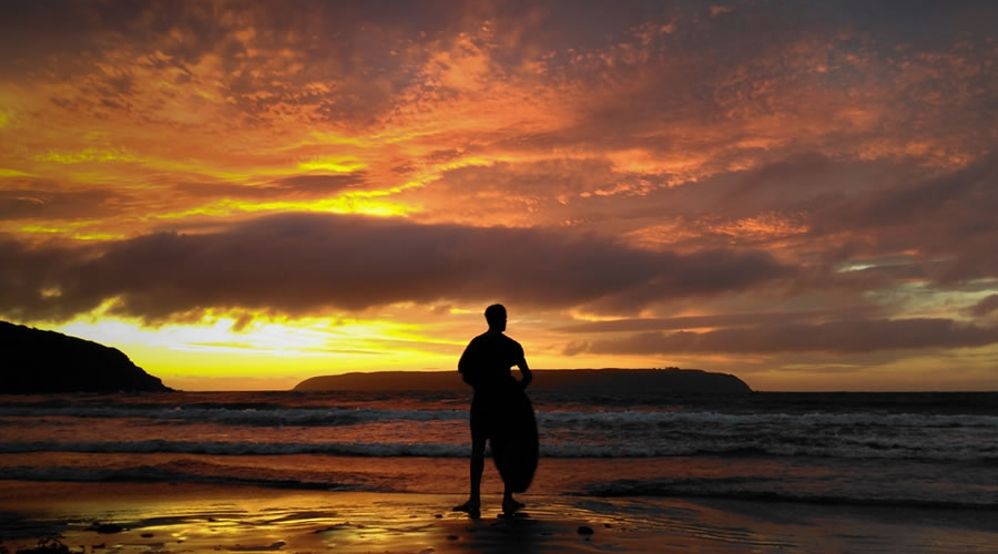 Skim Boarder at Titahi Bay by Porirua Photographer - Luke Pilkinton-Ching Vision Photography